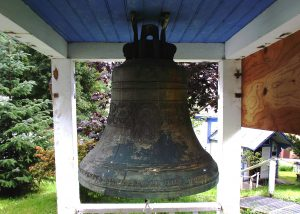 The bell at St Nicholas, Juneau