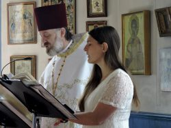 Orthodox Sheet Music, Litanies. Fr Simeon and Matushka Beth chanting