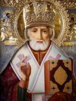 icon of St. Nicholas. St Nicholas Orthodox Church, Juneau