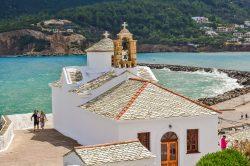 A small Orthodox Chapel: Skopelos, Greece